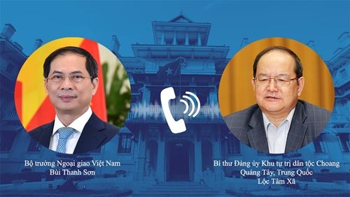 Tăng cường hợp tác giữa các địa phương của Việt Nam với Quảng Tây Trung Quốc