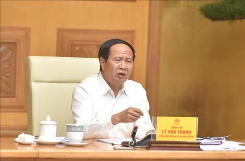 Phó Thủ tướng Lê Văn Thành Đảm bảo đủ vật liệu xây dựng, không lùi tiến độ cao tốc Bắc Nam