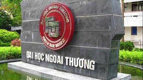 Trường ĐH Ngoại thương công bố điểm chuẩn năm 2021