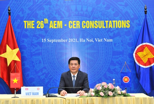 ASEAN và đối tác trao đổi về tình hình kinh tế khu vực và toàn cầu