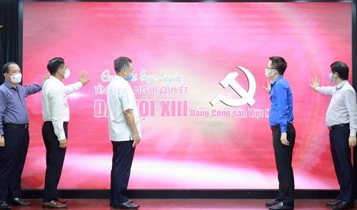 Phát động cuộc thi trực tuyến tìm hiểu Nghị quyết Đại hội XIII Đảng Cộng sản Việt Nam