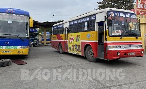 Hải Dương cho phép taxi, xe buýt hoạt động trở lại