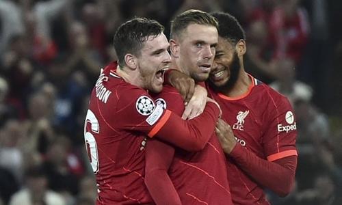 Đêm Anfield bùng nổ cảm xúc