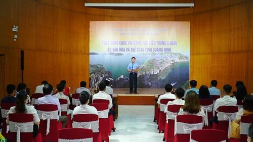 Quảng Ninh Phát động Cuộc thi Sáng tác biểu trưng Logo Sở Văn hóa và Thể thao