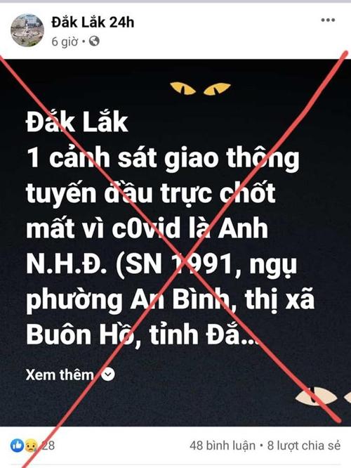 Truy tìm chủ tài khoản Đắk Lắk 24h đăng thông tin thất thiệt