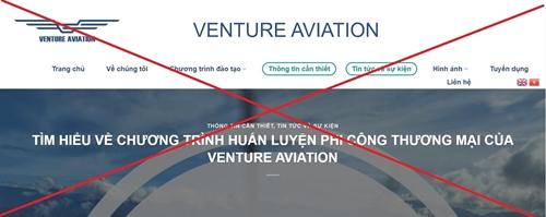Cảnh báo đào tạo phi công hình thức online trái phép