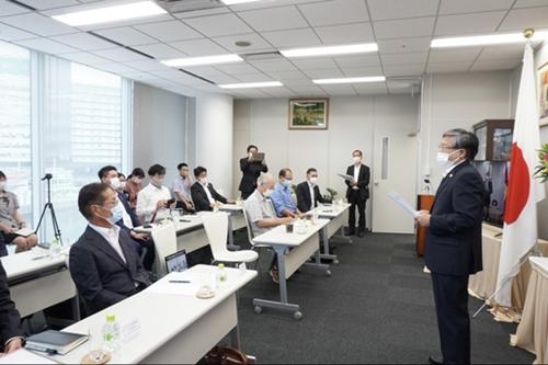 Kiều bào tại Fukuoka Nhật Bản chung tay phòng, chống COVID-19