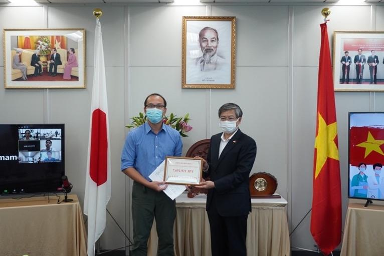 Hơn 7,6 triệu yên Nhật ủng hộ Quỹ Vaccine phòng, chống COVID-19