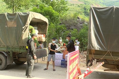 Công an tỉnh Sơn La tích cực tham gia phòng, chống dịch COVID-19