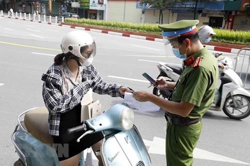 Hà Nội không kiểm soát giấy đi đường từ 6h ngày 21 9