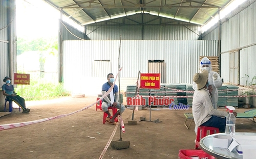 Bình Phước Bắt giữ xe tải chở 7 người trong thùng xe trốn chốt kiểm dịch