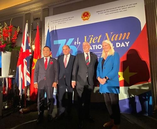 Tổ chức kỷ niệm 76 năm Quốc khánh Việt Nam tại London