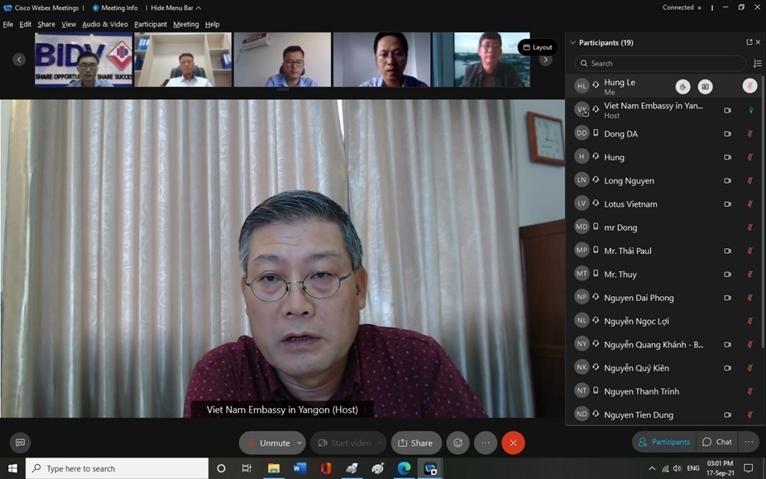 Tìm giải pháp hỗ trợ doanh nghiệp Việt Nam tại Myanmar