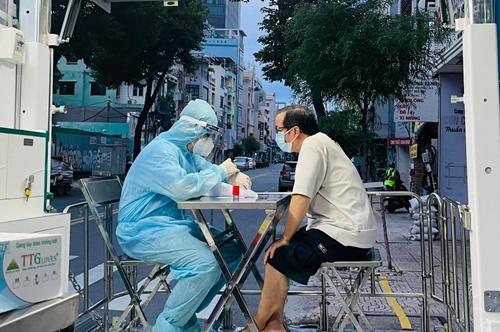 TP Hồ Chí Minh ghi nhận thêm 6 521 ca nhiễm COVID-19