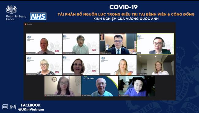 """""""COVID-19 Tái phân bổ nguồn lực trong điều trị tại bệnh viện và cộng đồng"""""""