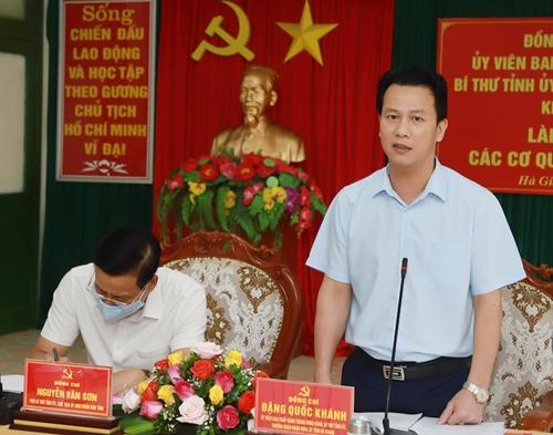 Bí thư Tỉnh ủy Hà Giang Đánh giá cán bộ tốt phải giao việc khó