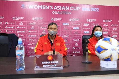 Đội tuyển Nữ Việt Nam thi đấu với quyết tâm cao nhất