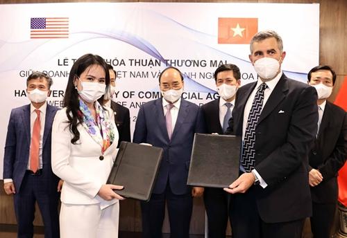 T T Group và đối tác Mỹ ký các hợp đồng hợp tác thương mại đầu tư trị giá trên 3 tỷ USD