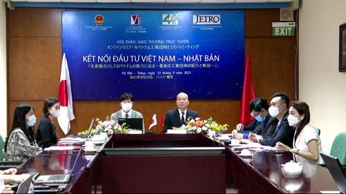 Thúc đẩy đầu tư giữa Việt Nam - Nhật Bản