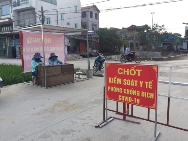 Hà Nội ghi nhận 05 ca mắc COVID-19 tại quận Long Biên và Thanh Xuân