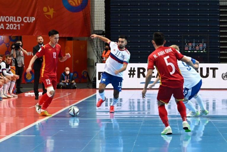 Tuyển futsal Việt Nam rời giải đấu với niềm tự hào