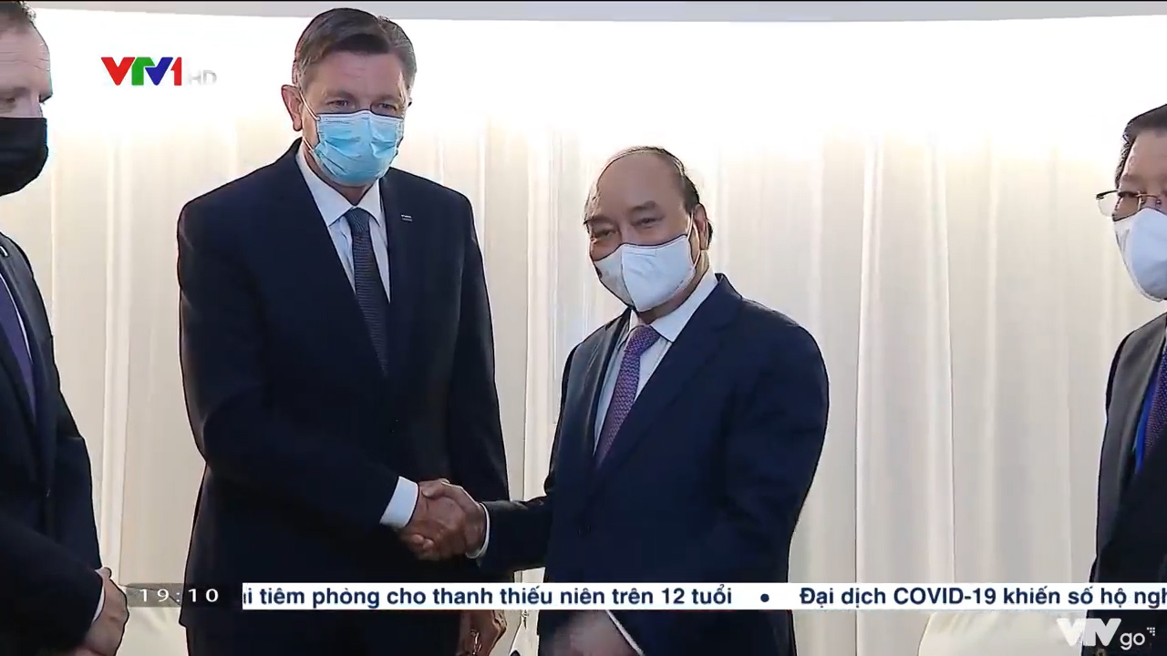 Chủ tịch nước hội kiến Tổng thống Slovenia