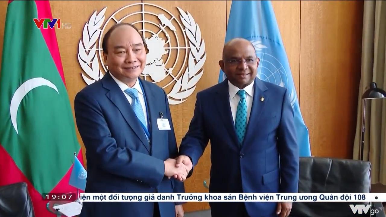 Chủ tịch nước hội kiến Chủ tịch Đại hội đồng Liên hợp quốc