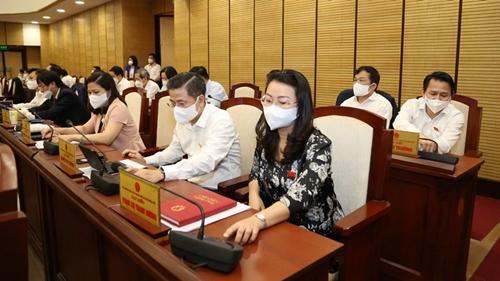 Kỳ họp thứ hai, HĐND TP Hà Nội Thông qua 17 nghị quyết quan trọng
