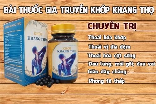 Cẩn thận với thông tin về sản phẩm Khớp Khang Thọ trên một số website