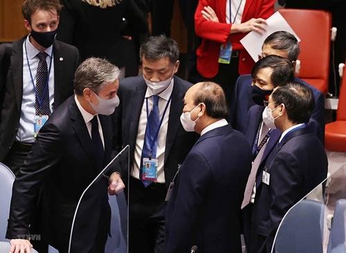 Mong muốn các nước tiếp tục hỗ trợ để Việt Nam sớm đẩy lùi dịch bệnh, phục hồi kinh tế