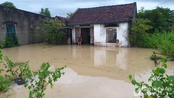 Huy động vật tư, phương tiện, nhân lực giúp người dân khắc phục hậu quả bão số 6