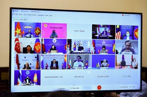 ASEAN tăng cường hợp tác ứng phó COVID-19