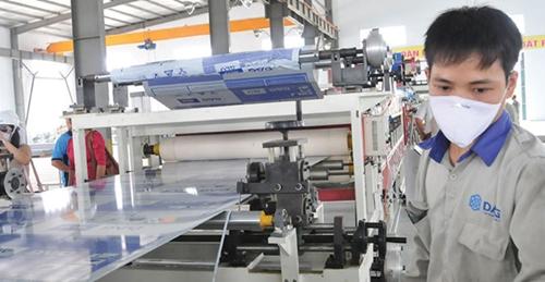 Ngành nhựa vẫn duy trì sản xuất kinh doanh trong bối cảnh dịch