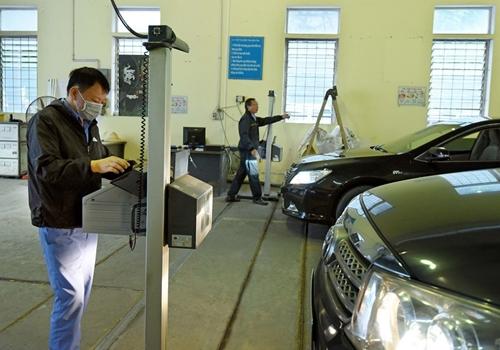Kiến nghị giảm lệ phí cấp giấy đăng kiểm xe cơ giới về mức 0 đồng