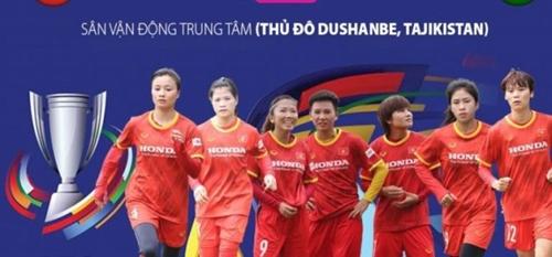 Đội tuyển nữ Việt Nam sẵn sàng trước trận gặp chủ nhà Tajikistan