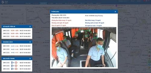 Đề xuất hỗ trợ 120 000 xe vận tải lắp camera AI để phòng, chống dịch COVID-19