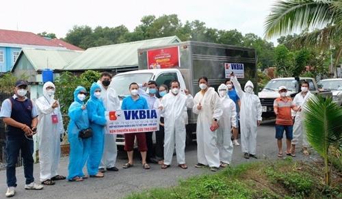 Kiều bào tiếp tục chung tay cùng TP Hồ Chí Minh đẩy lùi dịch bệnh