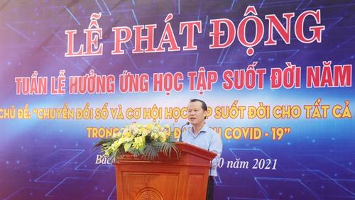 Bắc Giang Phát động Tuần lễ hưởng ứng học tập suốt đời năm 2021