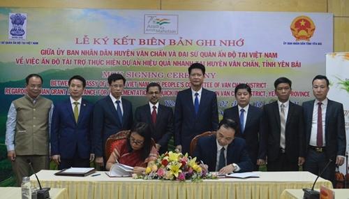 Tăng cường hợp tác giữa tỉnh Yên Bái với các đối tác Ấn Độ