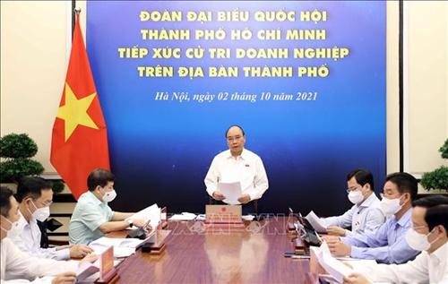Chủ tịch nước Sẽ sớm có chính sách cụ thể về tài chính, tiền tệ hỗ trợ TP Hồ Chí Minh