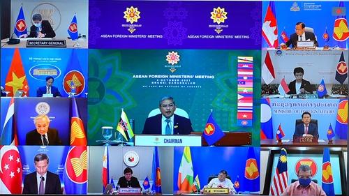 Các Bộ trưởng ASEAN họp trù bị cho các Hội nghị cấp cao ASEAN