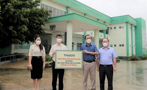 THACO trao tặng hệ thống Oxy lỏng trung tâm và khí nén cho tỉnh Quảng Nam