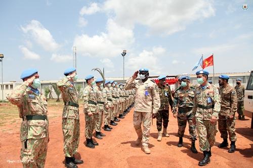 Đoàn cố vấn quân sự Liên hợp quốc đánh giá cao Bệnh viện Dã chiến 2 3 của Việt Nam