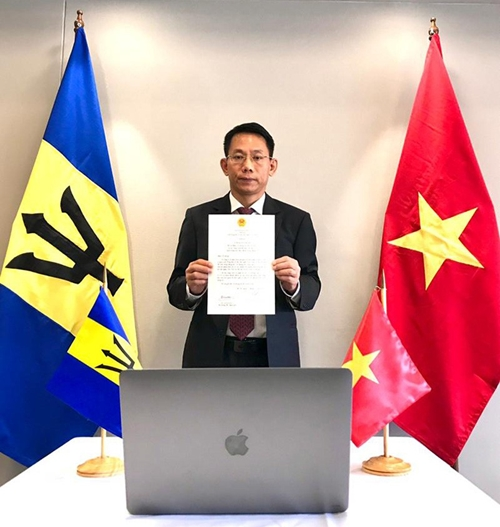 Thúc đẩy quan hệ hợp tác giữa Việt Nam và Barbados