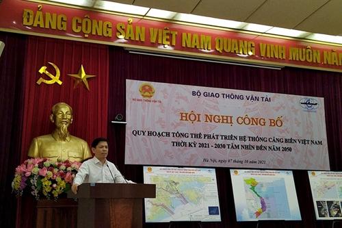 Việt Nam sẽ có 5 nhóm cảng biển trong qui hoạch