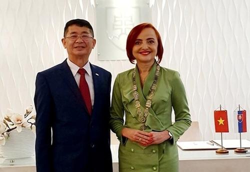Thúc đẩy hợp tác giữa các địa phương của Việt Nam và Slovakia
