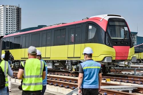 Dự án tuyến đường sắt đô thị đoạn Nhổn - ga Hà Nội chạy thử trong tháng 12 2021