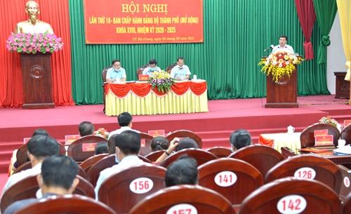 Thành phố Hà Giang Tập trung quy hoạch quản lý đất đai, đô thị, cải thiện môi trường đầu tư