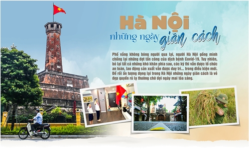Triển lãm ảnh trực tuyến  Hà Nội - Những ngày không quên