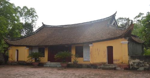 Tu bổ di tích đình Bo Chợ tỉnh Bắc Giang